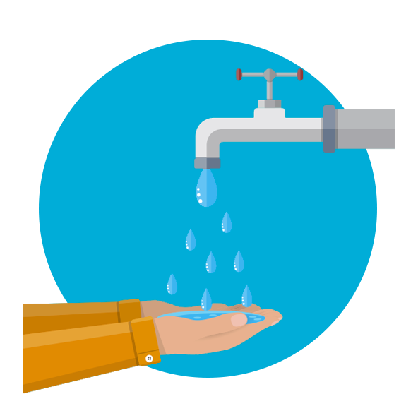 Rewarding water saving