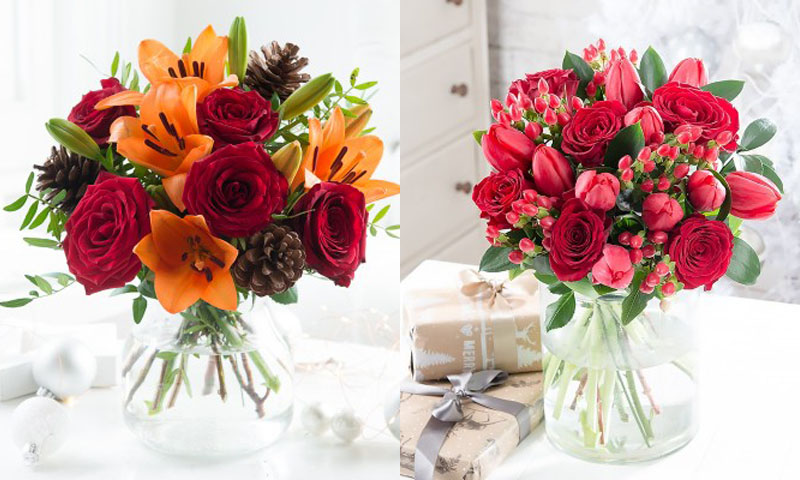 20% off Christmas bouquets \