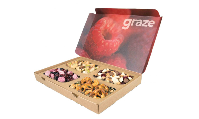 £5 to spend on graze boxes \
