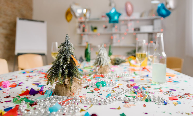 Quiz: The truth about xmas party waste