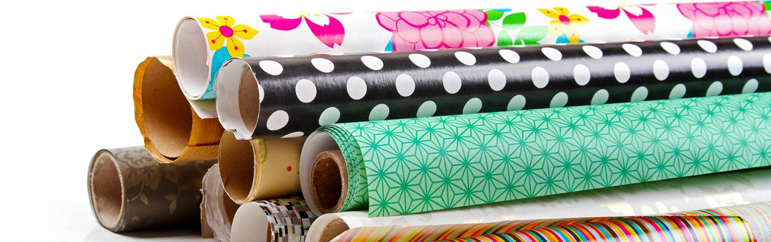 10 ways to reuse wrapping paper