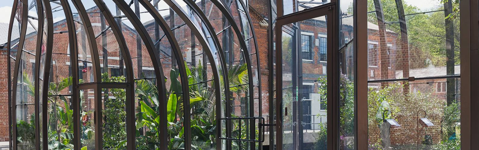 Can you guess the purpose of these eco glasshouses?
