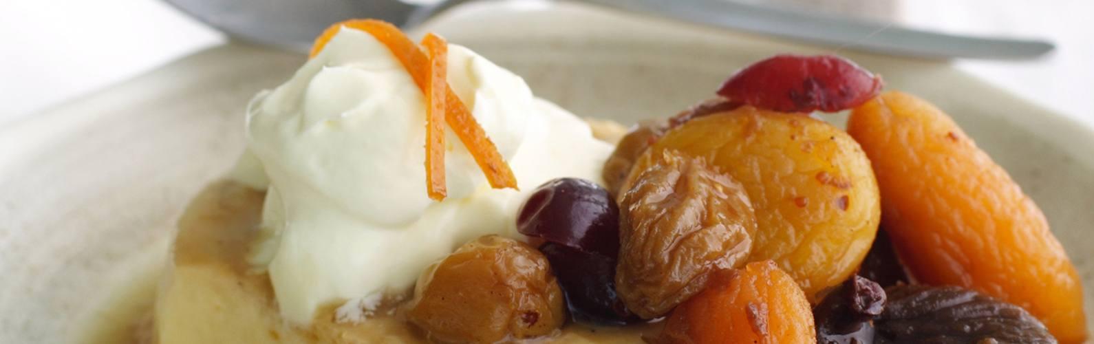 Decadent recipes for dried fruit