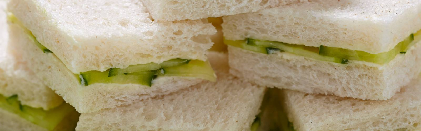 It's cucumber sandwiches all round – but what to do with the crusts?