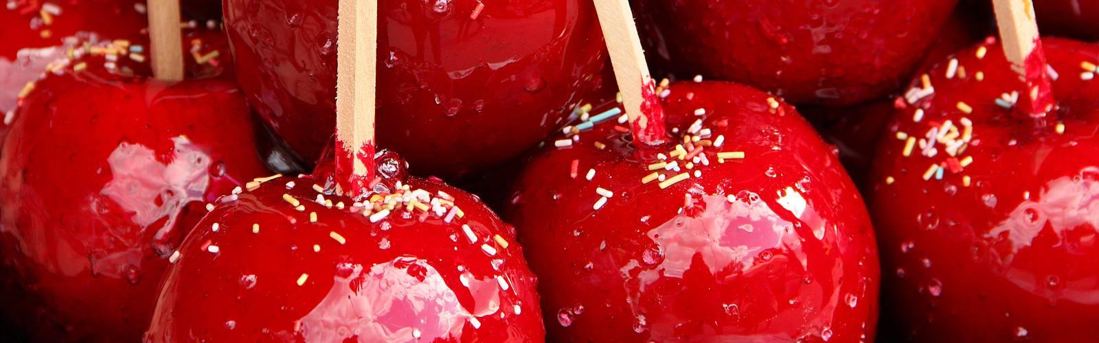 Water-friendly snacks for Hallowe'en treating