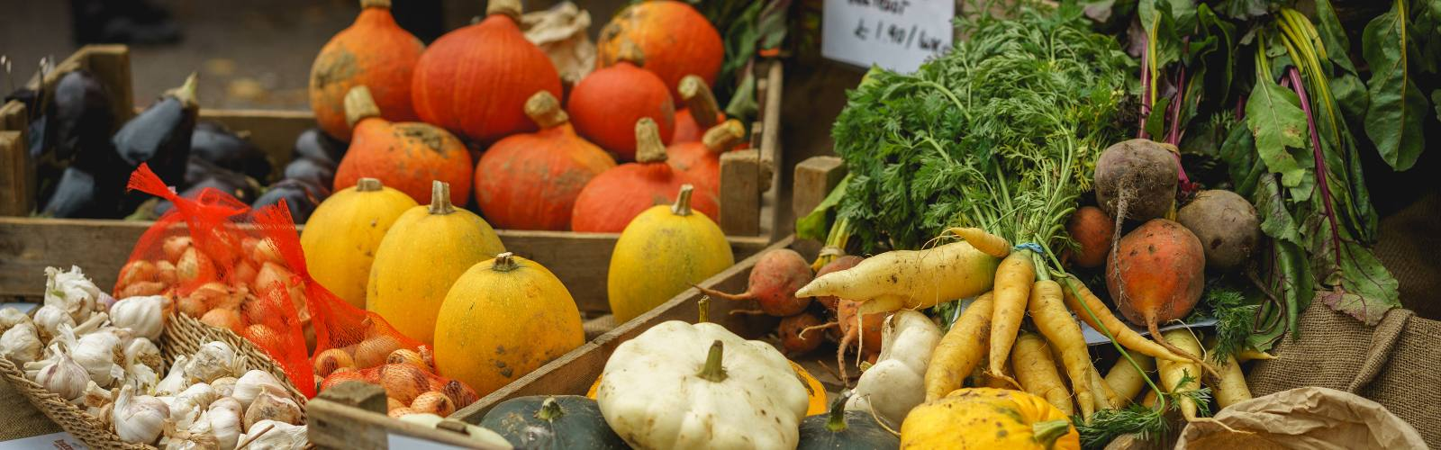 Celebrate the Great British Harvest by cropping your food miles