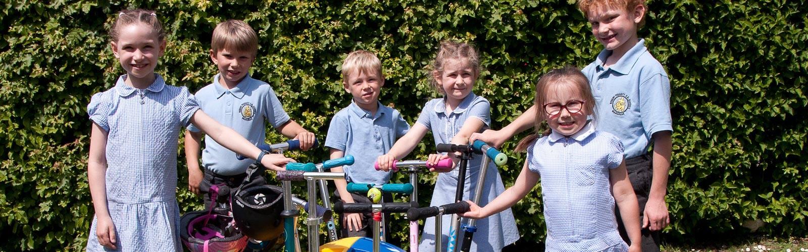 The Robert Piggott C of E School reap the benefits of Recycling!