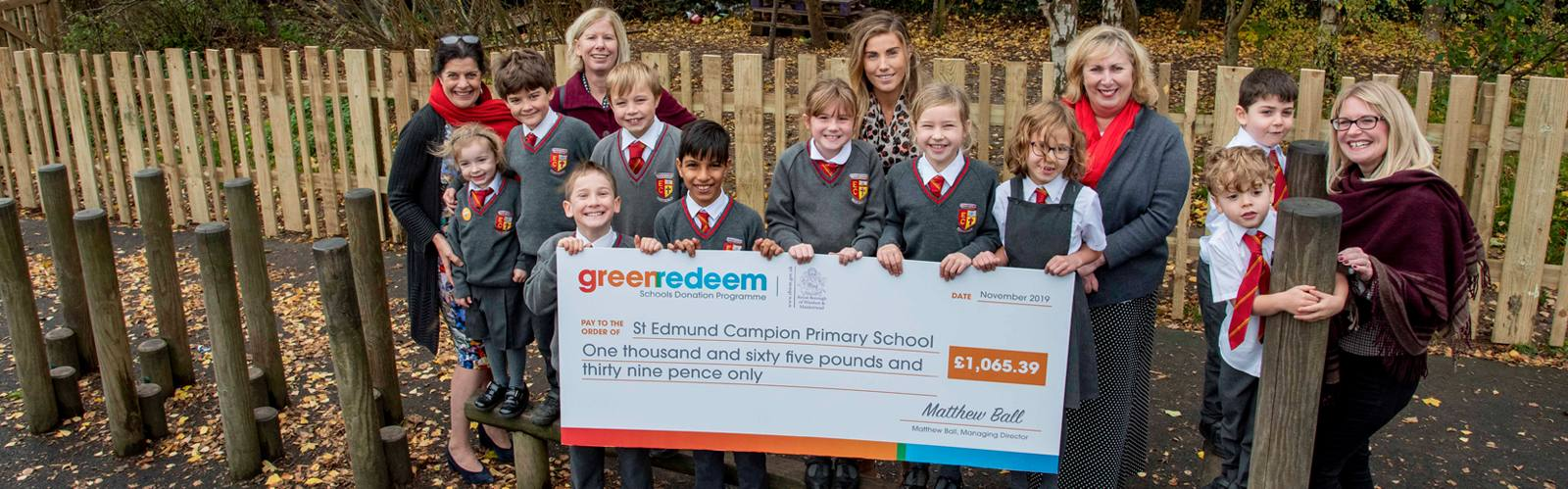 18 Schools cash in on Recycling in the Royal Borough!