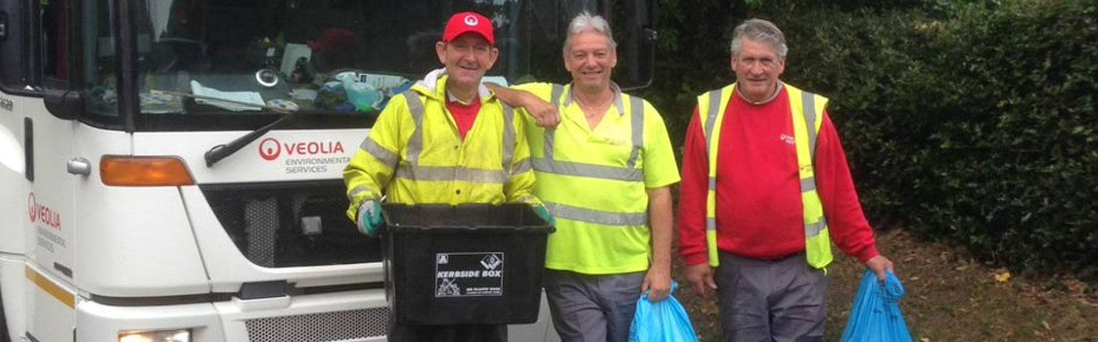 Let's celebrate the fantastic work & thank Wokingham's bin crews, as they just keep going!