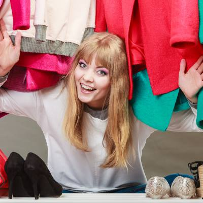 Keep your clothes in good nick with these recycled storage ideas