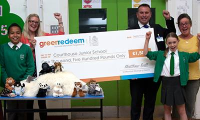 Royal Borough schools appeal for Greenredeem points to earn a share of £3,000.