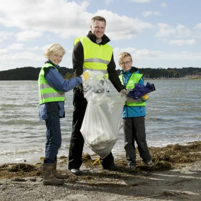 Good clean fun on the Great British Beach Clean