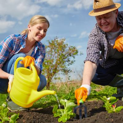 Stay water smart when you're tidying up the garden