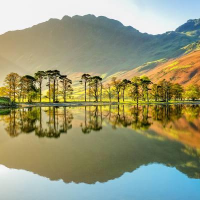 A lake, a llyn, a loch and a lough – by public transport