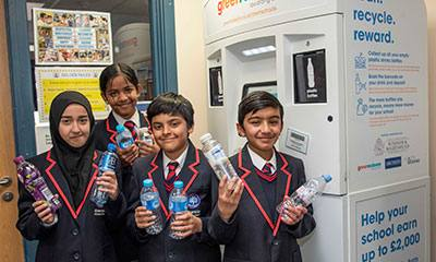 Riverside Primary pupils achieve 1st milestone in recycling pilot