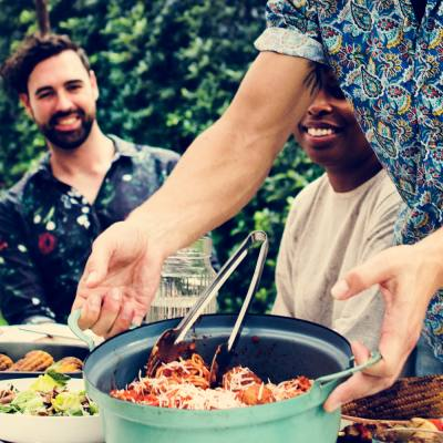 'Pooling parties': the new way to eat up leftovers