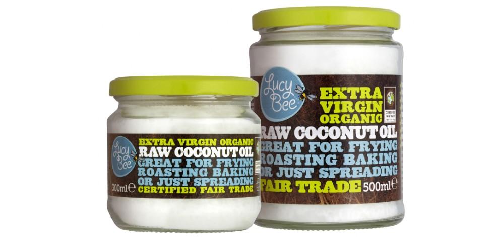 Organic fair trade coconut oil