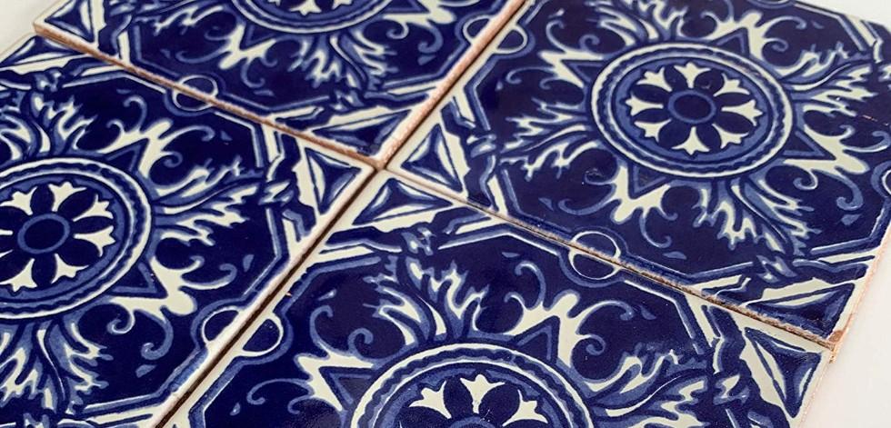 Handmade fair trade wall tiles from Mexico