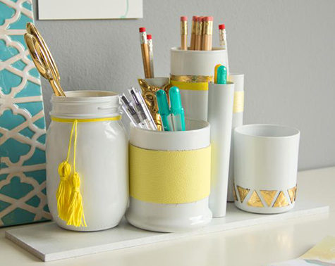 Recycled Colourco Ordinated Desk Organiser