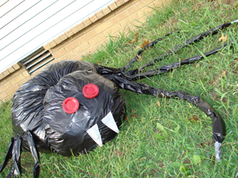 Make Your Own Halloween By Recycling Plastic Bags
