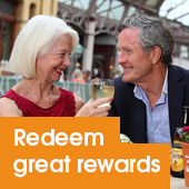Redeem great rewards
