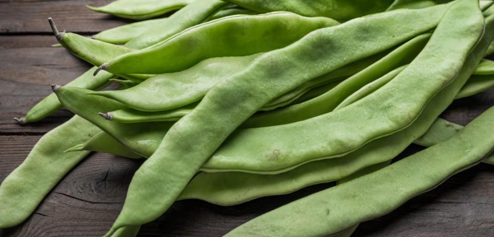 British runner beans